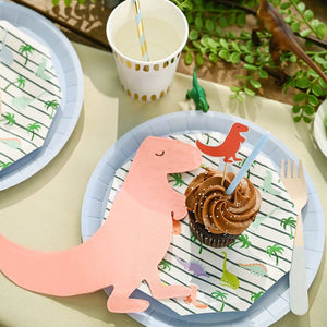 Dino Mite Small Paper Plates - Ellie and Piper