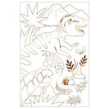 Dinosaur Kingdom Coloring Posters - Ellie and Piper