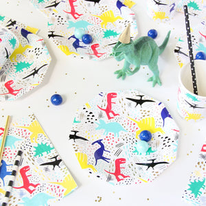 Dinomite Dinosaur Napkins - Ellie and Piper