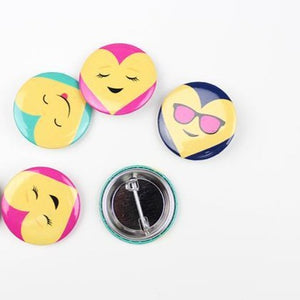 Emoji Button Valentines (Set of 18) - Ellie and Piper