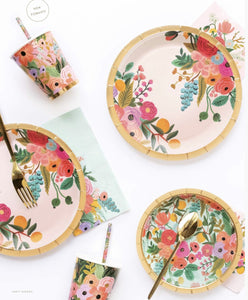 Garden Party Small Paper Plates - Ellie and Piper