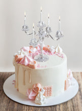 Sparkly Candelabra Cake Topper - Ellie and Piper
