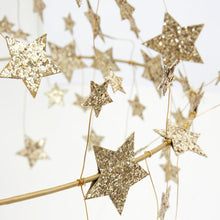 Gold Sparkle Star Chandelier - Ellie and Piper