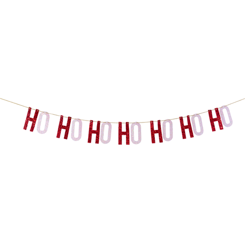 Ho Ho Ho Ho Ho Ho Ho Christmas Banner Ellie & Piper Party Boutique