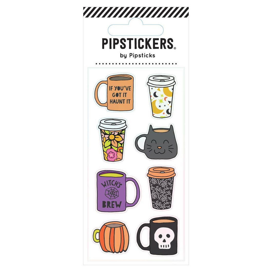 Halloween Mugs Stickers - Ellie and Piper