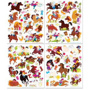 Horse Play Sticker Activity Tote - Ellie and Piper