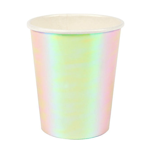 Iridescent Cups - Ellie and Piper