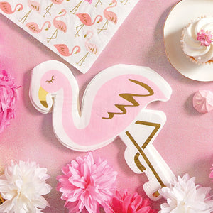 Flamingo Shaped Napkins - Ellie and Piper