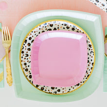 Small Dessert Posh Paper Plates - PinkAholic - Ellie and Piper