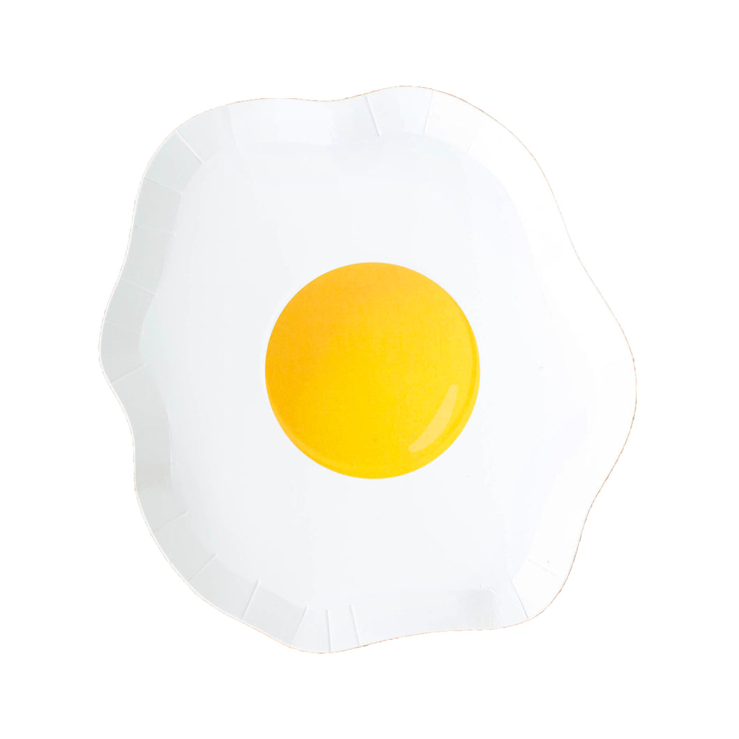 Egg Yolk Small Paper Plates - Ellie and Piper