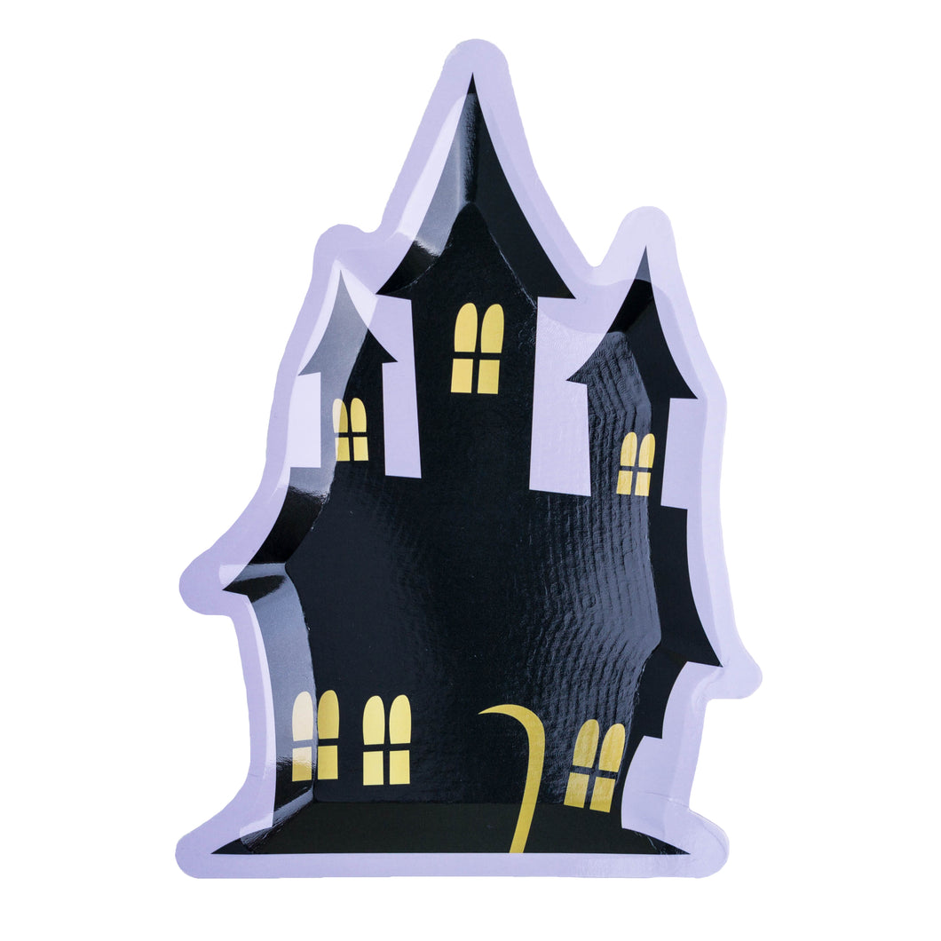 Haunted House Dessert Plates