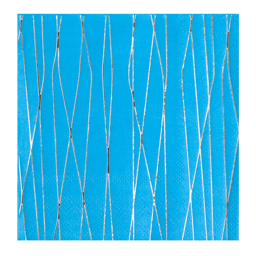 Party Cocktail Napkin - Markle Blue