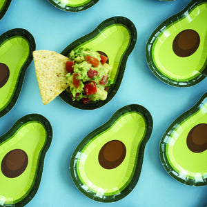 Avocado Canape Paper Plates - Ellie and Piper