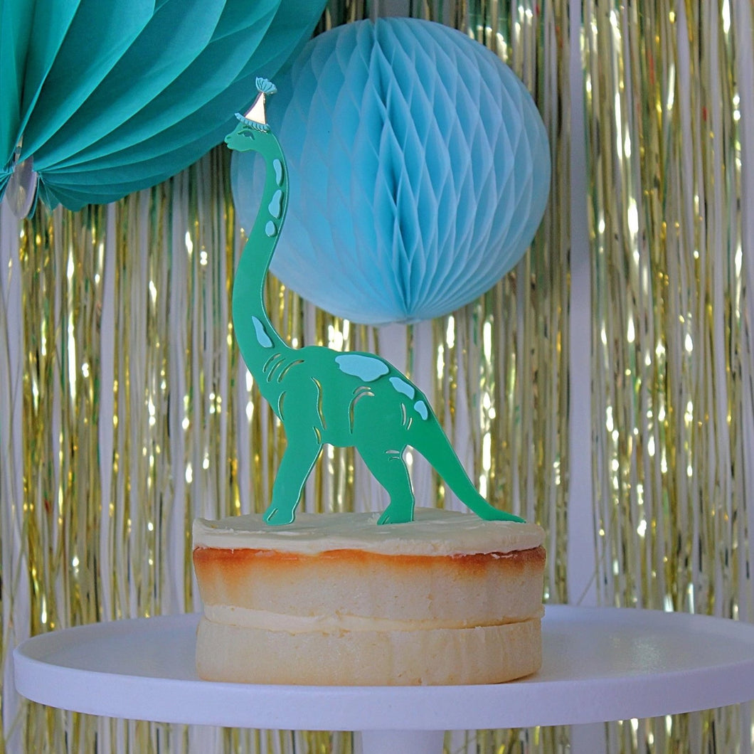 PARTY DINOSAUR - Cake Topper - Ellie and Piper