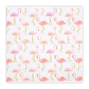 Flamingo Lunch Napkins - Ellie and Piper