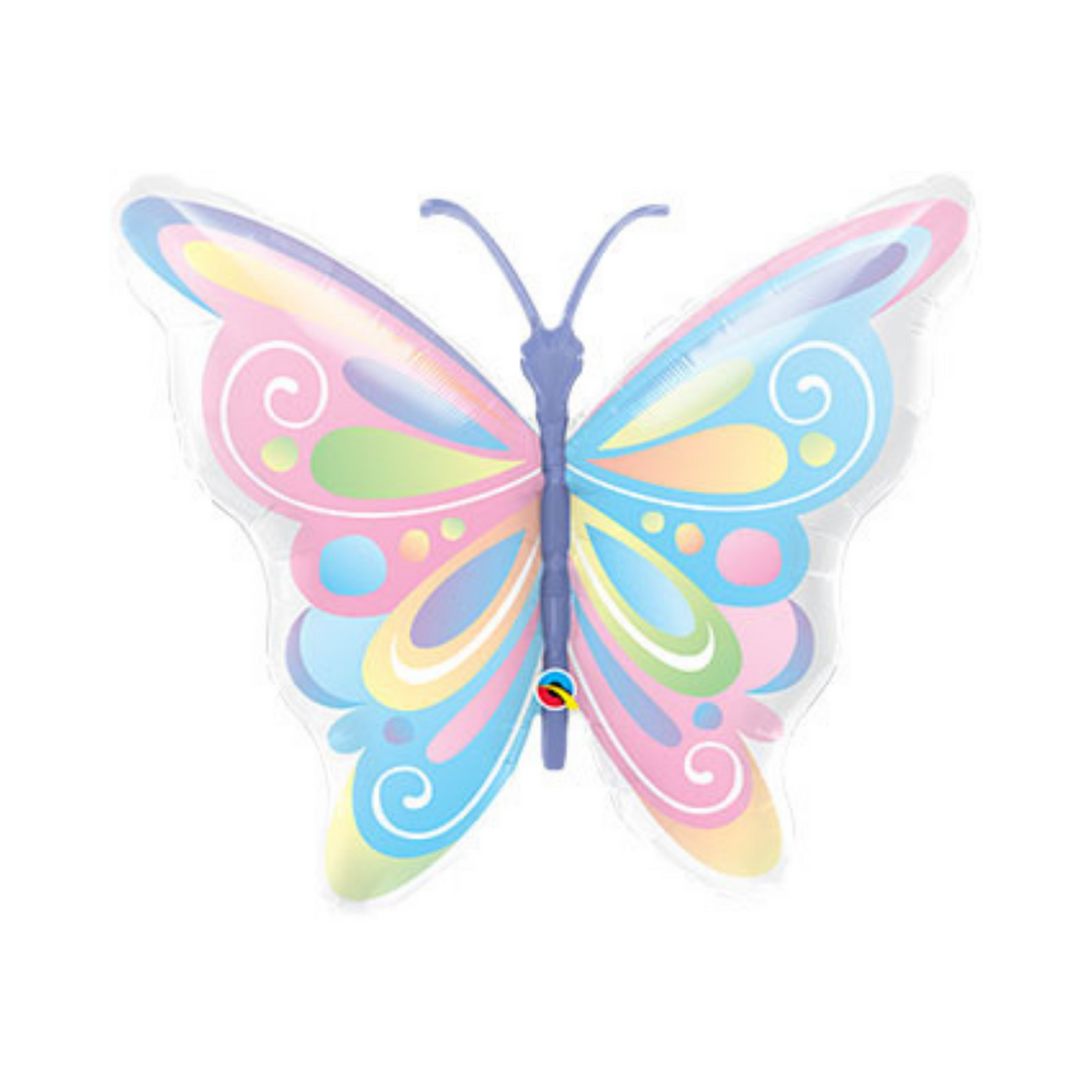 Pastel Butterfly Balloon - Ellie and Piper