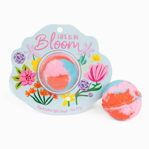 Life is in Bloom Organic Bath Bomb - Ellie and Piper
