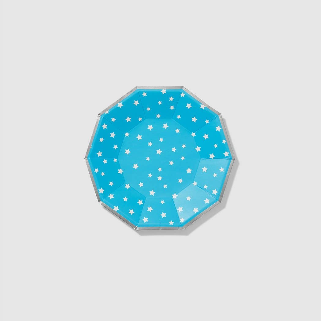 Lucky Stars Small Paper Plates - Ellie and Piper