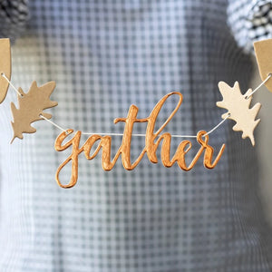 Gather Banner Ellie & Piper Party Boutique