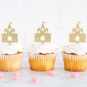 Princess Castle Cupcake Toppers Ellie & Piper Party Boutique