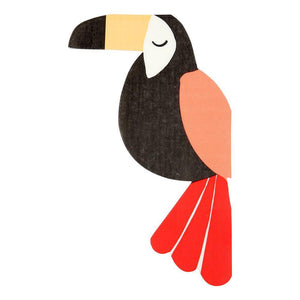 Go Wild Toucan Napkins - Ellie and Piper