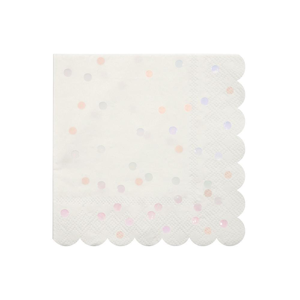 Iridescent Spots Napkins - Ellie and Piper