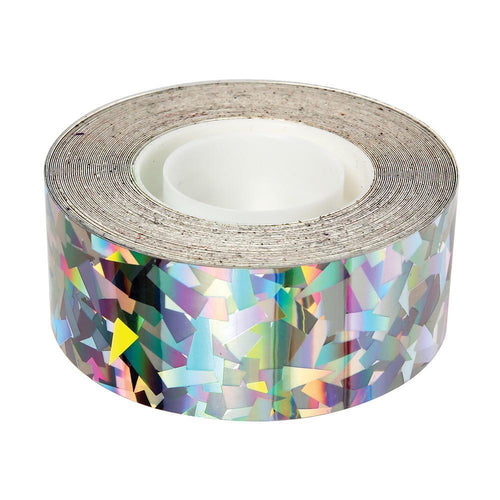 Sparkly Silver Mylar Tape Ellie & Piper Party Boutique