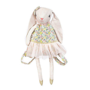 My Dolly Bunny Linen Backpack - Ellie and Piper