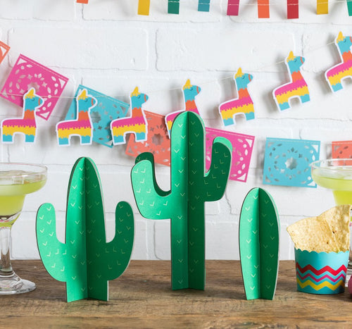 Cactus Fiesta Tabletop Decor - Ellie and Piper