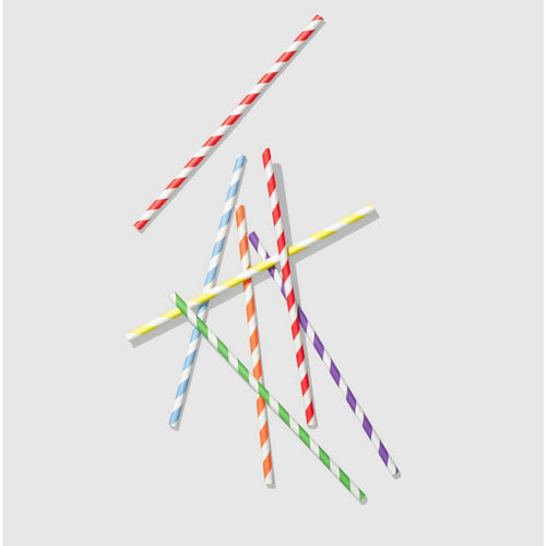 Make It Rainbow Paper Straws - Ellie and Piper