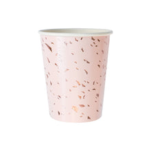 Manhattan Pale Pink Confetti Paper Cups - Ellie and Piper