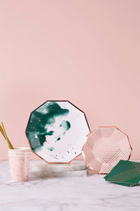 Harlow and Grey Manhattan Pale Pink Confetti Paper Cups
