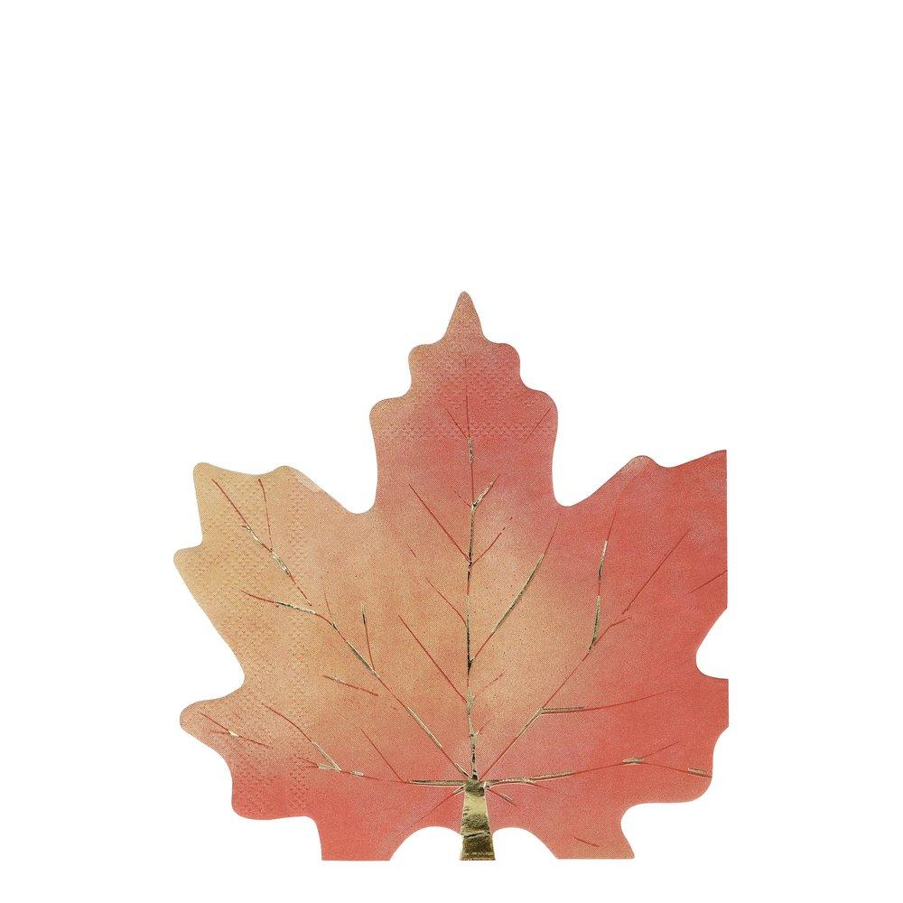 Maple Leaf Napkins - Ellie and Piper