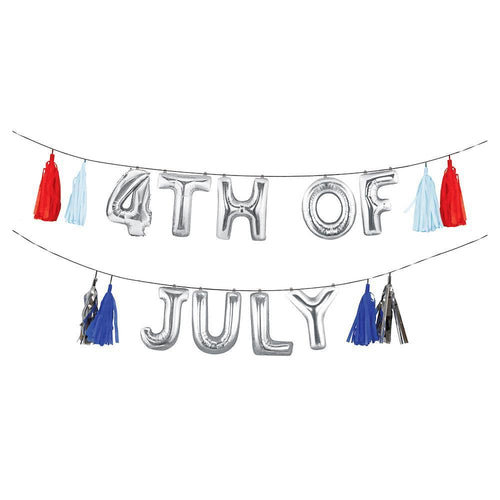 4th July Balloon Garland