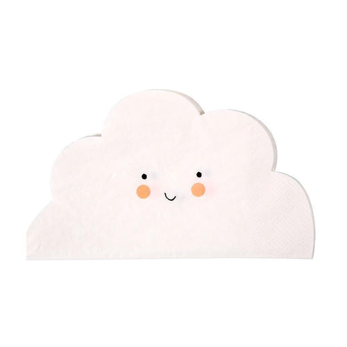 Cloud Shaped Napkins - Ellie and Piper