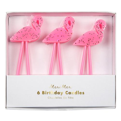 Flamingo Candles - Ellie and Piper