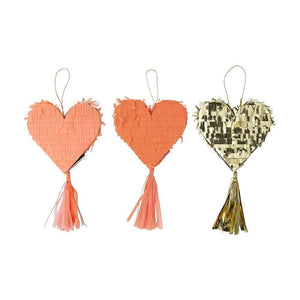 Heart Pinata Favors Pack - Ellie and Piper