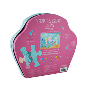 Mermaid Jigsaw Puzzle 40 Piece - Ellie and Piper
