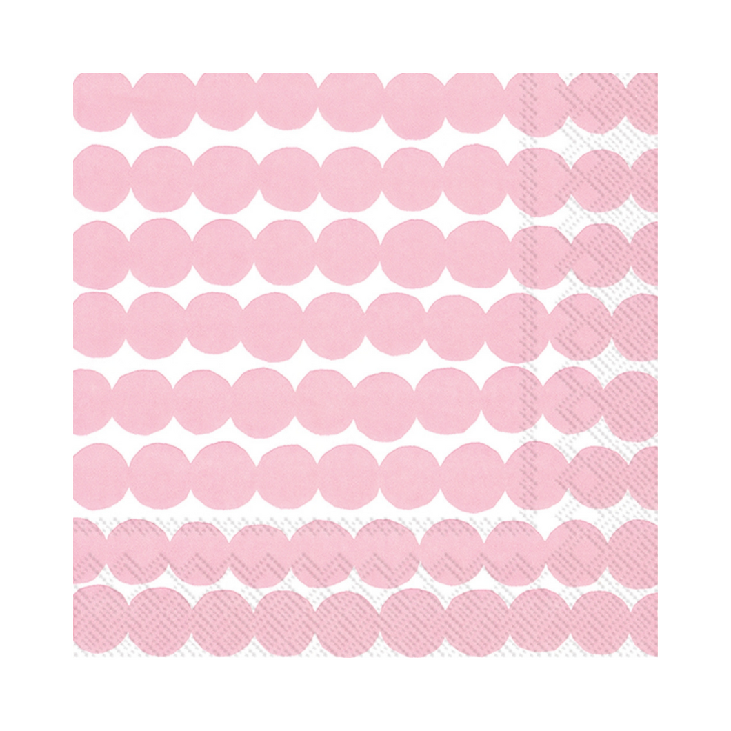 Marimekko Rose Pink Cocktail Napkin - Ellie and Piper
