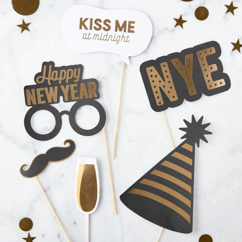 New Years Photo Props
