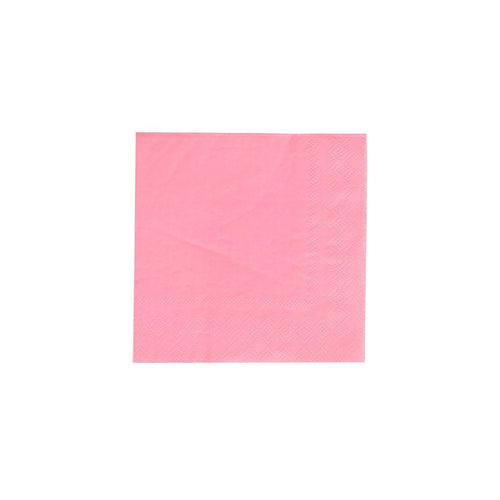 Neon Rose Pink Cocktail Napkins