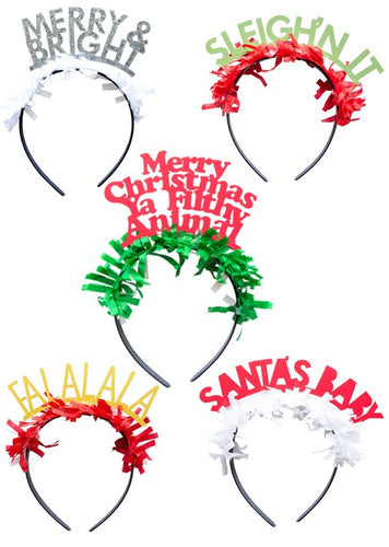 Holiday Pack Party Up Top Headbands Ellie & Piper Party Boutique