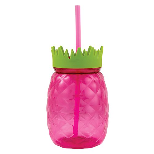 Pink Pineapple Tumbler - Ellie and Piper