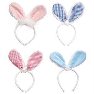 Plush Bunny Ears Headbands (4 Styles) - Ellie and Piper