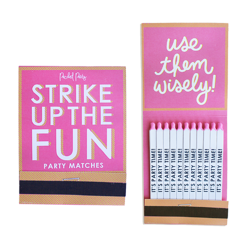 Strike Up The Fun Jumbo Matchbook