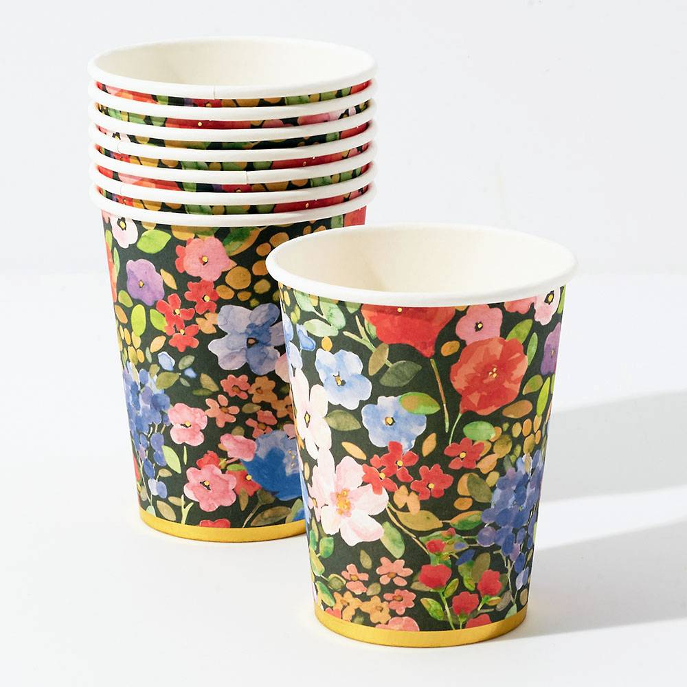 Painted Meadow Cups - Ellie and Piper