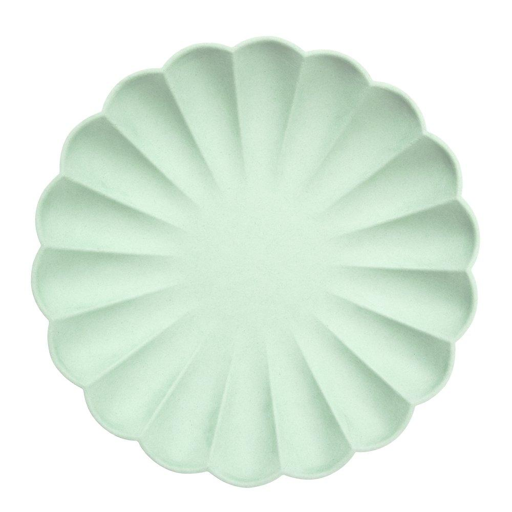 Mint Simply Eco Large Paper Plates - Ellie and Piper