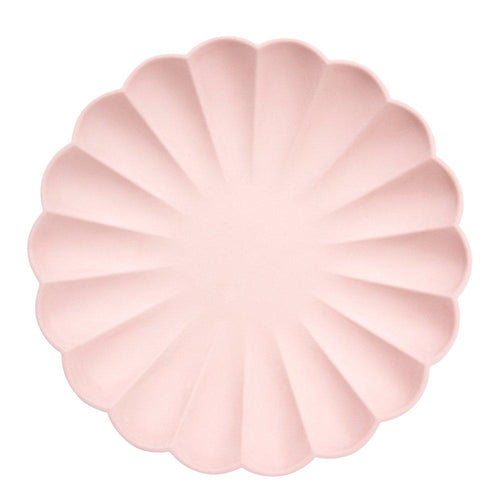Pink Simply Eco Large Plates