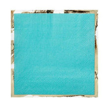 Party Cocktail Napkin - Buoy Bye Aqua Blue - Ellie and Piper