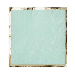 Party Cocktail Napkin - Chill Out Mint Green - Ellie and Piper